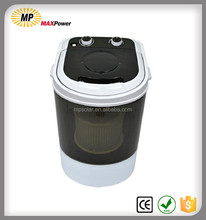 Portable mini washing machine with spin dryer for home
