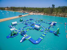 25 meters x 35 meters New Inflatable Water Park For 2016, giant Water Park Projects