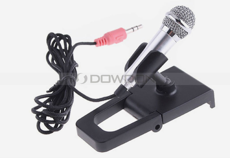 World Smallest Microphone 180cm Length HIFI Home Music Portable Microphone