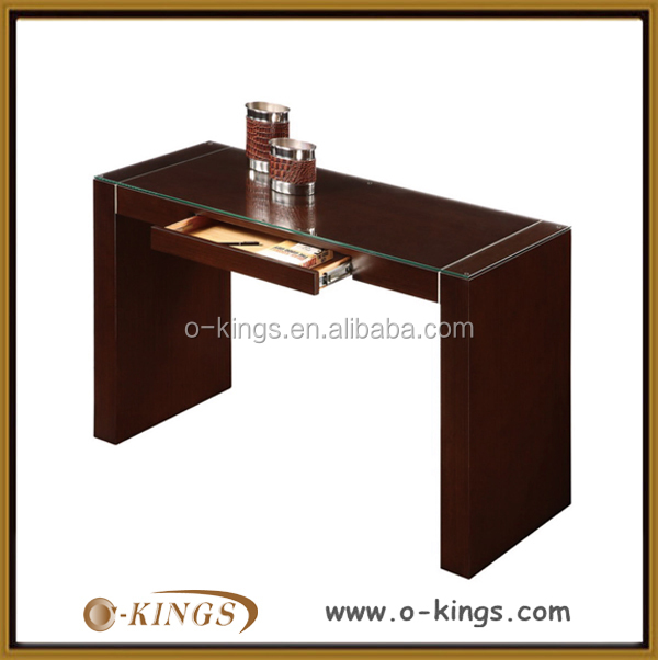 luxury solid wood console table/hotel console table