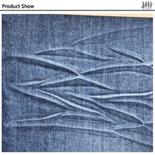 Hangzhou Woven Technics Shrinkproof mercerized denim fabric textile