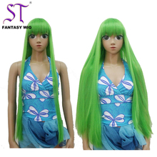 Wholesale long straight synthetic wig mituna cosplay