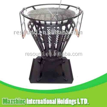 WROUGHT IRON FIRE PIT