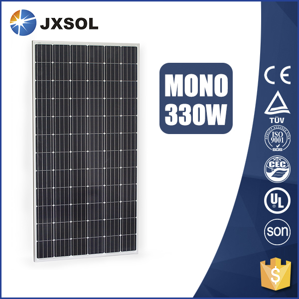 25 Years warranty custom cheap momo 330w solar panels for apartments