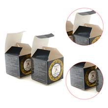 Factory wholesale folding kraft cosmetic box small cute custom joint paper box