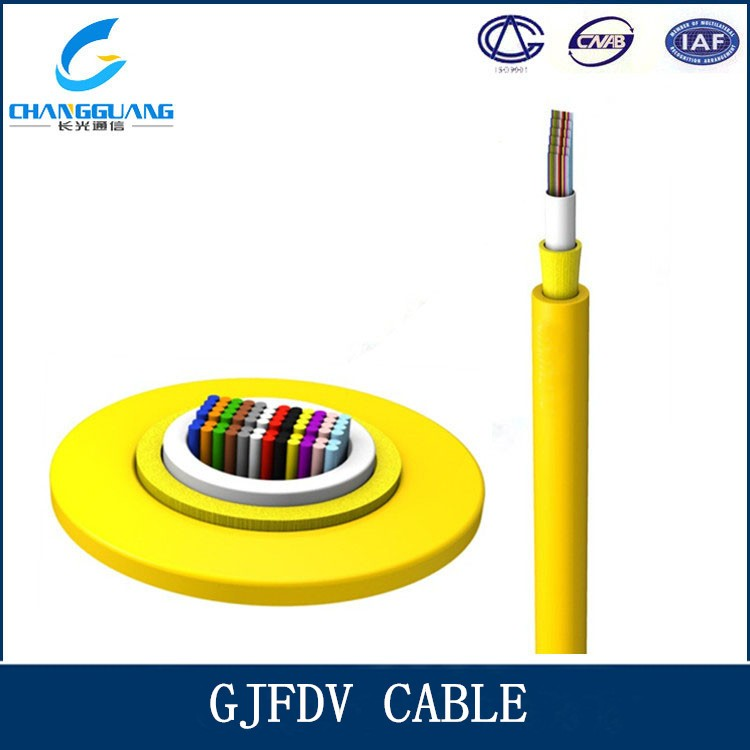 Factory price indoor 48 Core Ribbon Fiber optic Cable rj6 price