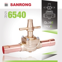 SR 6510 6540 Brass Globe Valve for Air Conditioning, Refrigeration Globe Valve