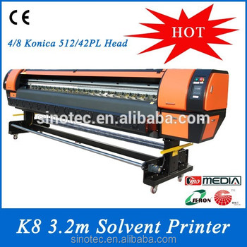 SeronK8-Large Format with Konica printhead Solvent Printer
