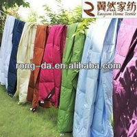 Colorful Cotton Shell Cheap Feather & Down Blanket