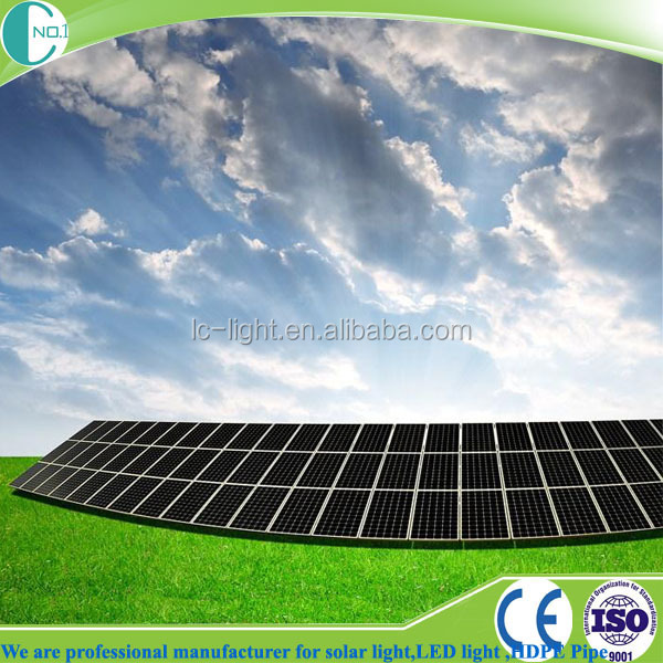 120w Pv Monocrystalline Solar Panel with China Professional Manufacturers