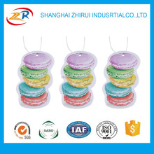 high quality Macaroon Shape air freshener for car Wholesale