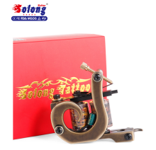 Top High Quality copper coils iron handmade shader tattoo machine
