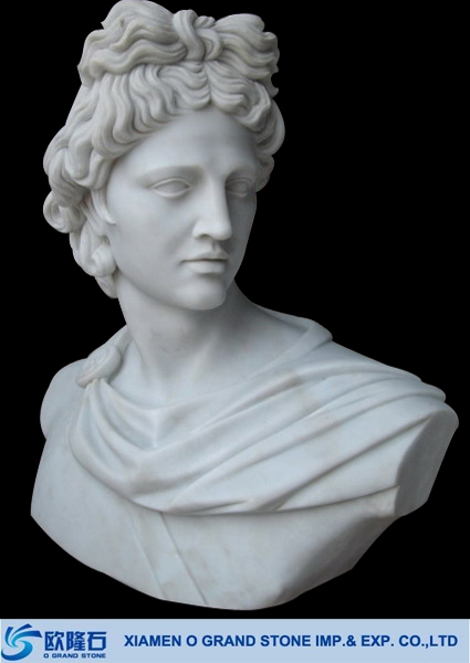 marble busts for sale,jade white marble david head stone busts