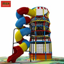 Children Plastic Tube Slide,Spiral Tube Slide