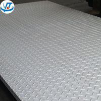 Checkered aluminum sheet 3003 aluminum 5 bar chequered plates for anti-skip flooring