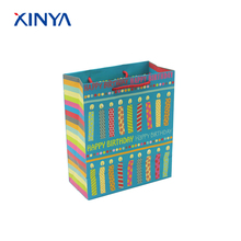 Factory Sale Custom Made Special Design Present Merchandise Packaging Vivid Printing Party Favor Paper Gift Bag