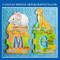 paper fridge magnet in animal shape for promotion items