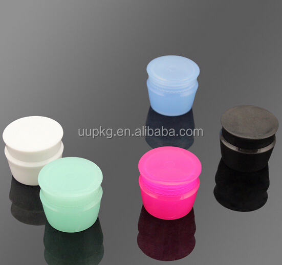 UU PACKAGING 10ml clear plastic jar