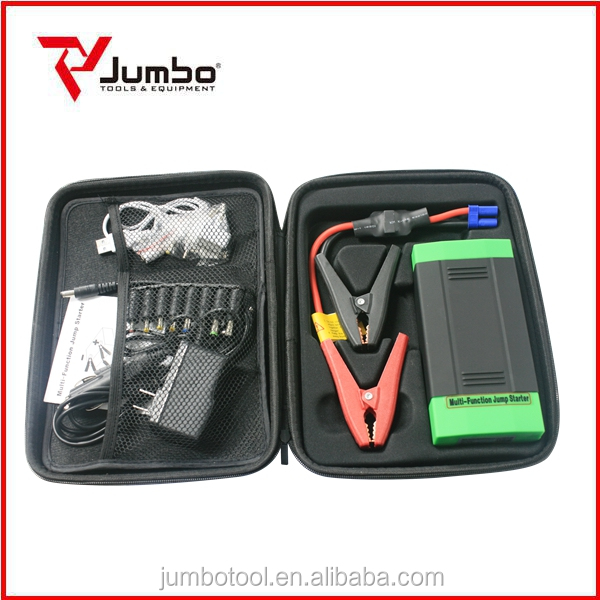 JB1216 12000mAh portable car jump starter power bank 400 AMP peak emergency Auto mini jump starter with portable power pack