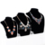 Wholesale China factory custom luxury MDF jewelry pendant display holder jewellery shop black velvet bust necklace display