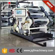 Eco-firendly automatic scrap tire recycling machinery/4 rolls calendering machine