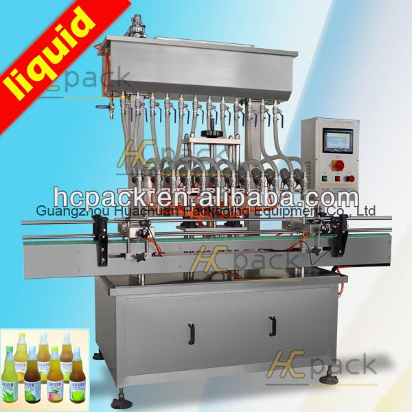Twelve-heads Atmospheric Pressure bleach filling machine