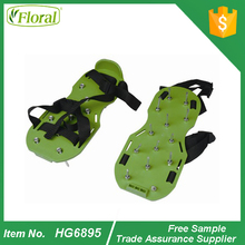 Lawn Aerator Aerating Shoes Sandals Spikes Per Shoe Easy Strap On