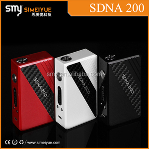 Unique SMY Harmless Smoke china wholesale vaporizer pen vapor stick SDNA 200 with original DNA 200 chip