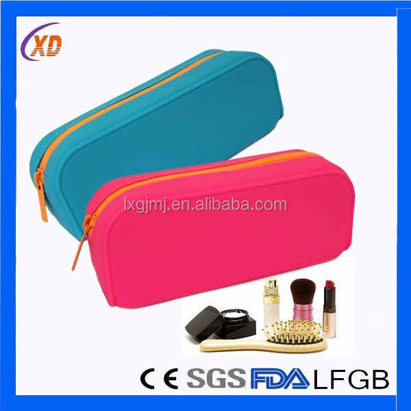Silicone smart wallet purse for card and coin holder