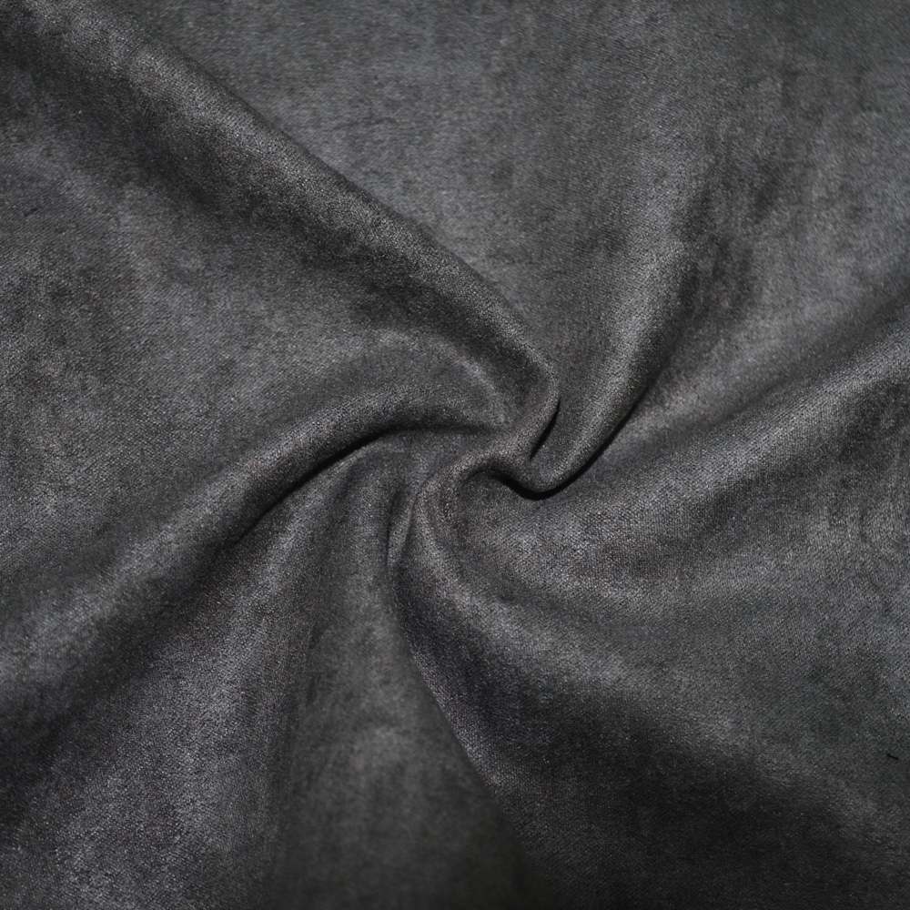 leather lining home textile 100% polyester upholstery brushed suede fabric for garment