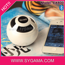 2014 round shape sd card subwoofer speaker bluetooth vibration speaker subwoofer