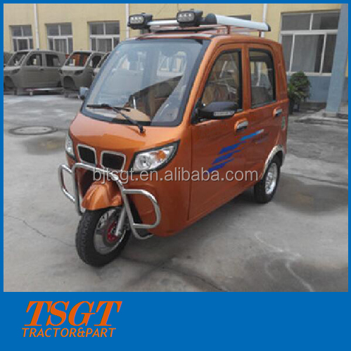 like city car closed cabin motor tricycle with 175cc engine and auto gearbox