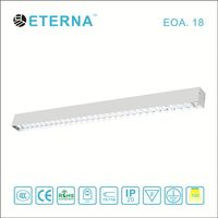LED Government House Aluminum Linear Pendant light fixture