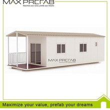 Low cost ready made prefabricated container house for sale