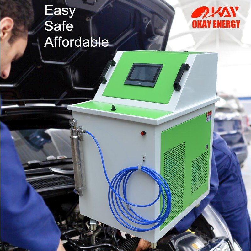 auto mobile service carbon cleaning fuel system decarboniser machine price