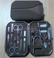 High quality professional manicure pedicure set