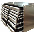 72 inches Stainless Steel Tool Box SST2572