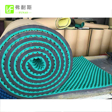 High Density Adhesive Backed Acoustic Wall Panel Foam Rubber Soundproof Material
