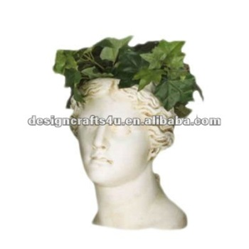 Clay Outdoor Head Shaped Planters Buy Head Shaped