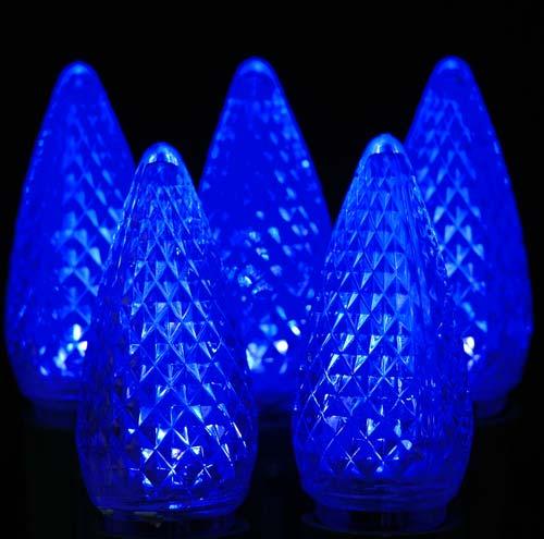 12v 03w Blue Christmas Bulbs Holidays Lights C7 E12 With Ce Rhos