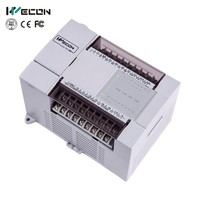 LX 24 I/O home automation low cost plc controller for access controller developed by Wecon