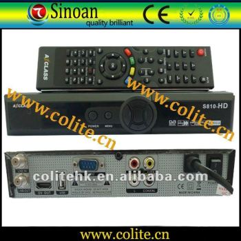 Satellite Receiver Azclass S810 HD for South America, New Arrival, Hot Selling