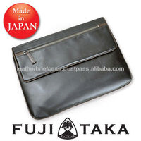 Stylish Leather Laptop Briefcase made in Japan FUJITAKA | 41215