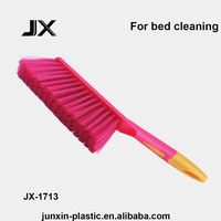 cleaning products hot sale assembly plastic bed dust brush with handle for bed cleaning