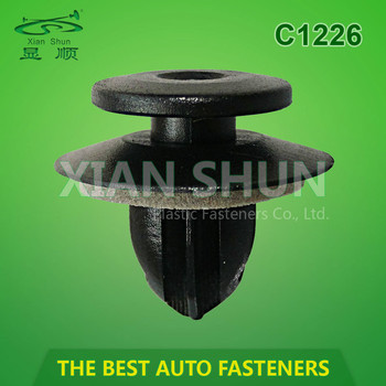 Plastic Automotive Fasteners for Auto OEM Parts TS16949 and ISO9001