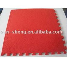 EVA foam carpet top flooring mat