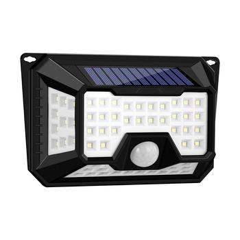 Waterproof 42/66/136/86 LEDs Outdoor Solar Motion Detector Led Street Light for Garden, Path, Wall, Yard