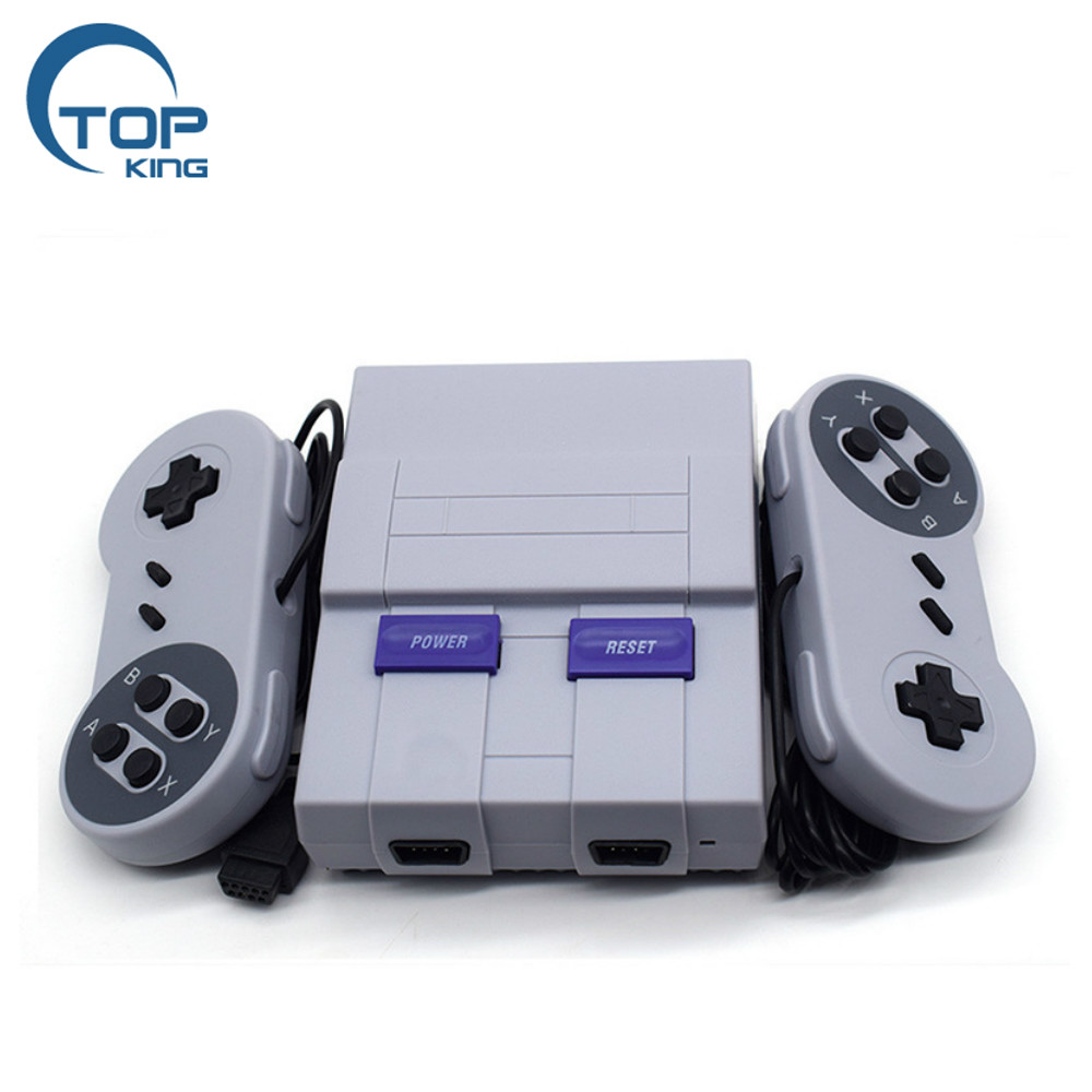 2018 cheapest Built in 400 Games mini super classic game console with 2 controllers AV cable US version