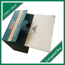 KRAFT PAPER FROZEN STORAGE FOOD PACKAGING BOX FOR DELIVERY