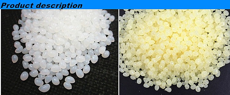 White transparent EVA granule hot melt adhesive glue for making cigarette filter tipping